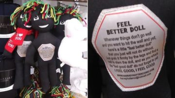'FEEL BETTER DOLL' MEANT TO BE ABUSED PULLED FROM SHELVES AFTER COMPLAINTS OF RACISM