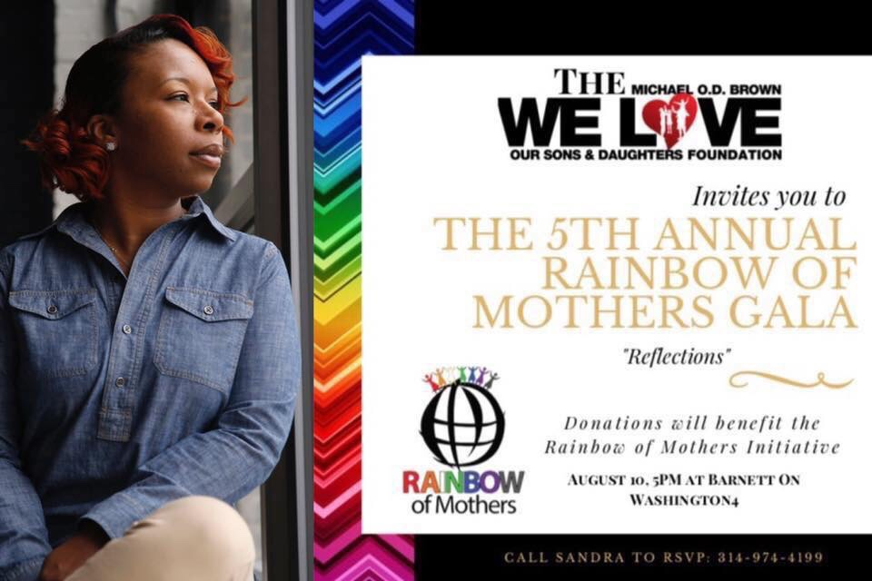 RAINBOW GALA FOR CHILDREN LOST TO VIOLENCE TO BE HOSTED BY MOTHER OF MIKE BROWN
