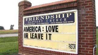 PASTOR BRINGS POLITICS INTO CHURCH, CONGREGATION DISAGREES