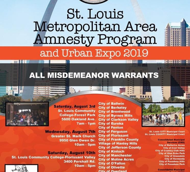 The St. Louis Metropolitan Amnesty Program is back!