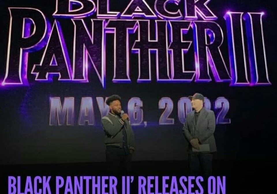 BLACK PANTHER SEQUEL DATE RELEASED