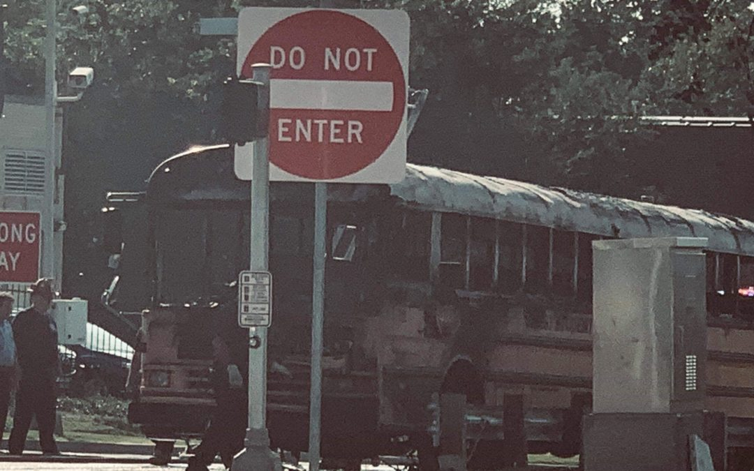 NO INJURIES REPORTED AFTER SCHOOL BUS  FIRE IN SOUTH ST. LOUIS