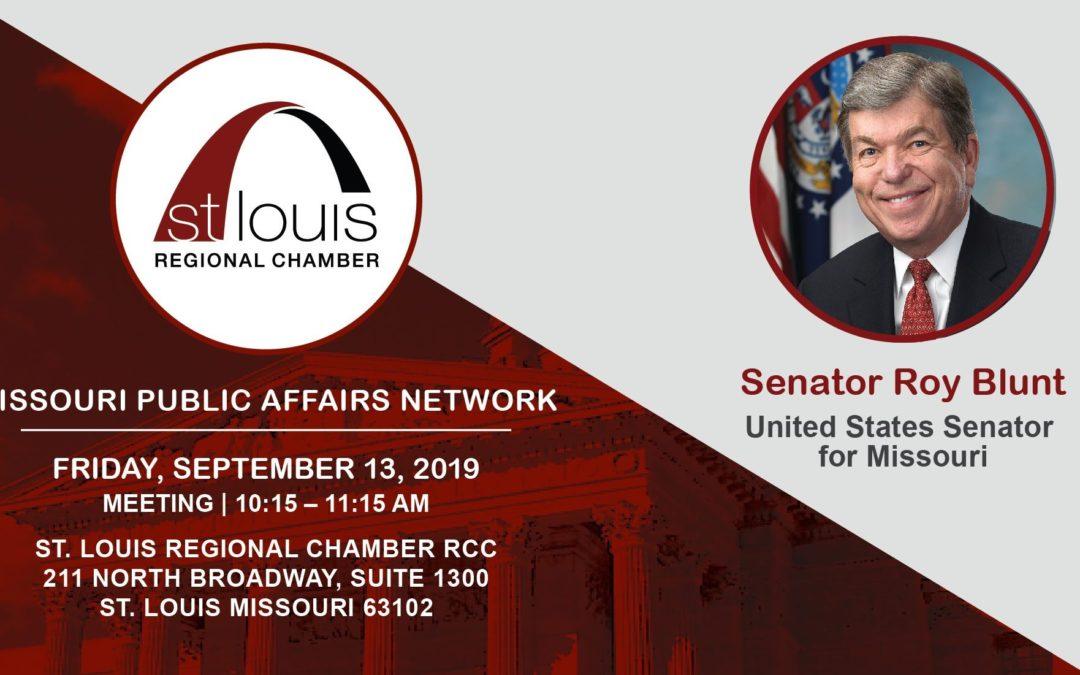 Missouri Public Affairs Network Meeting: Senator Roy Blunt