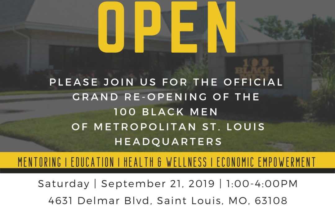 Men of Metropolitan St. Louis Building Grand Re-Opening