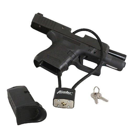 GUN LOCK GIVEAWAY SATURDAY AFTERNOON
