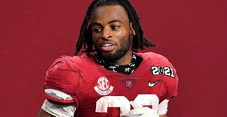 NAJEE HARRIS HOSTS PARTY IN HOMELESS SHELTER WHERE HE ONCE LIVED HOURS BEFORE BEING DRAFTED BY PITTSBURGH STEELERS