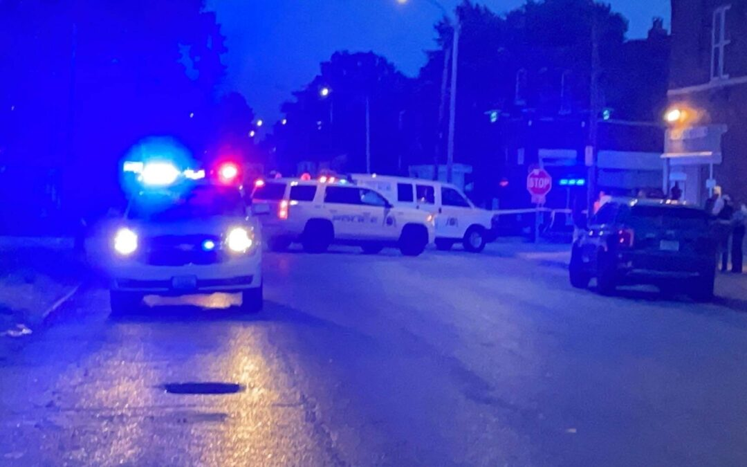 STOLEN BACKPACK 🎒 LEADS TO A MAN SHOT AT A DOWNTOWN GAS STATION