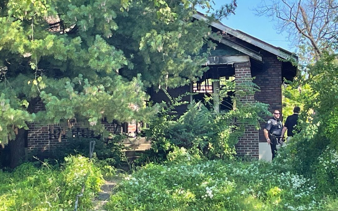 BODIES FOUND IN OLD BURNED OUT ABANDONED HOME IN WELLSTON